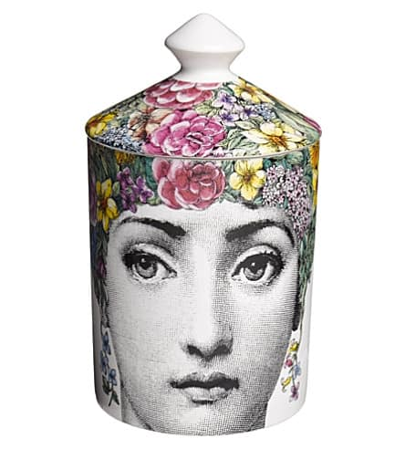 Fornasetti Scented Candle, Flora, 300g - Carats Jewelry and Gifts