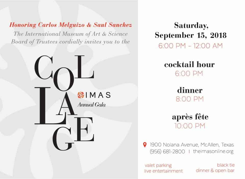 Join Us for the IMAS Annual Gala Black Tie Event - Carats Jewelry and Gifts