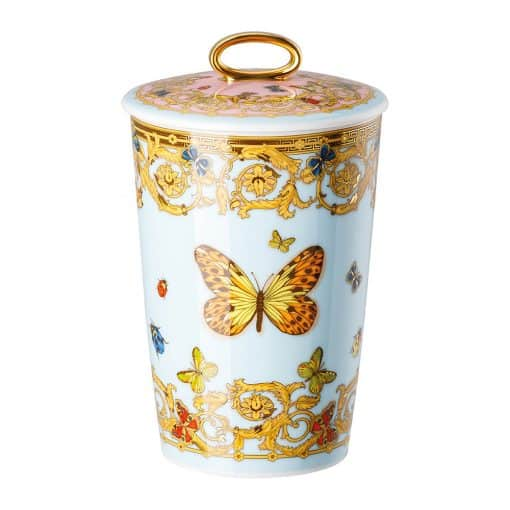 Le Jardin De Versace- Votive W/lid 5 1/2in - Carats Jewelry and Gifts