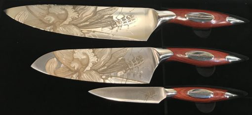 Estrella Set Of 3 Knifes - Carats Jewelry and Gifts