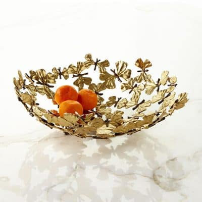 Butterfly Ginkgo Center Piece Bowl
