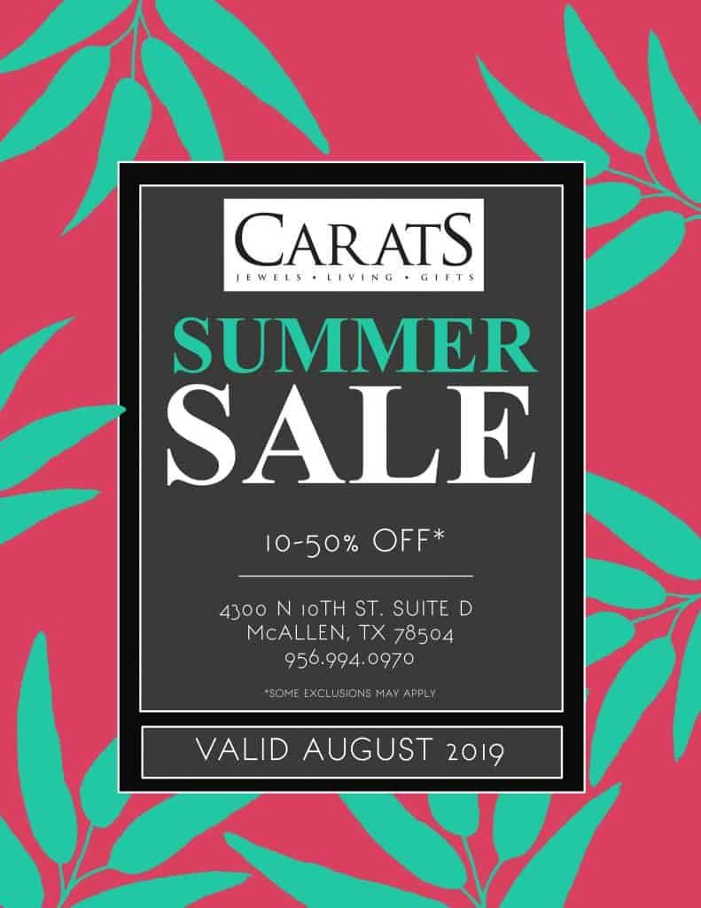 Carats Summer Sale is here! - Carats Jewelry and Gifts