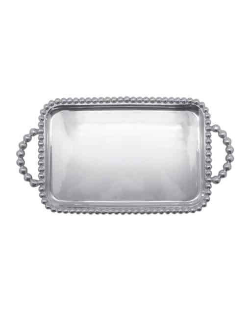 Pearled Medium Service Tray - Carats Jewelry and Gifts