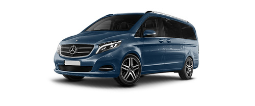 Mercedes benz v class colors available in 12 colors in for Navy blue mercedes benz