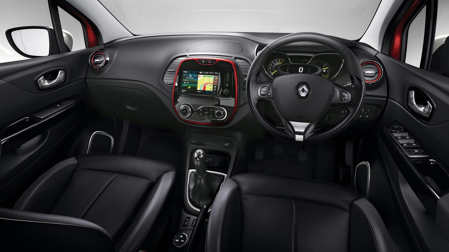 The era of crossovers renault captur carbay for Interior renault captur
