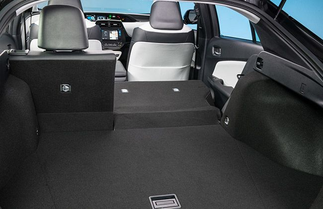 Toyota Prius Boot-Space Inside
