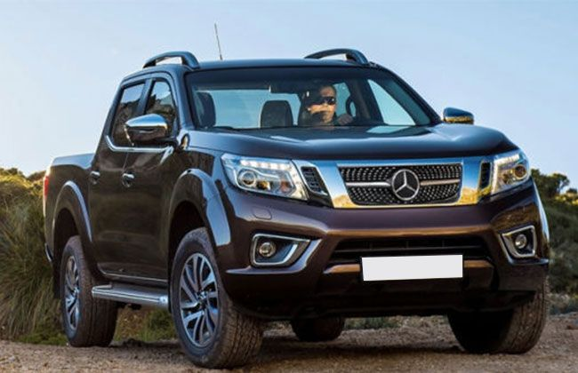 mercedes benz pick up x class model may surprise you carbay. Black Bedroom Furniture Sets. Home Design Ideas