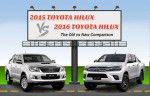 2016 Toyota Hilux vs 2015 Toyota Hilux: The Old vs New Comparison