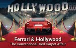 Ferrari and Hollywood: The Conventional Red Carpet Affair