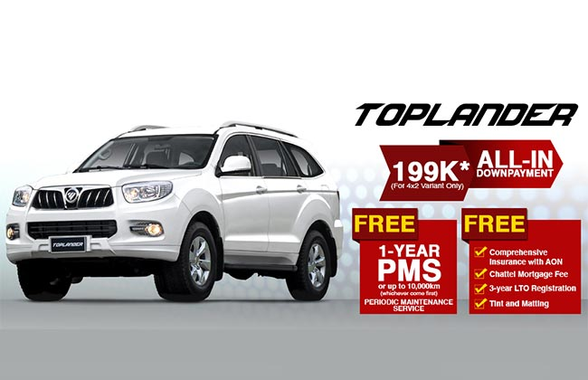 Promo Suv Cars In The Philippines.html | Autos Post