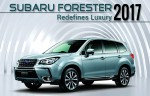 Subaru Forester 2017- What to Expect from this SUV?