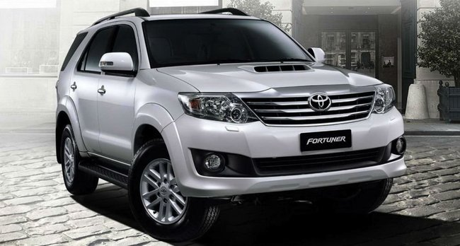 Fortuner front view
