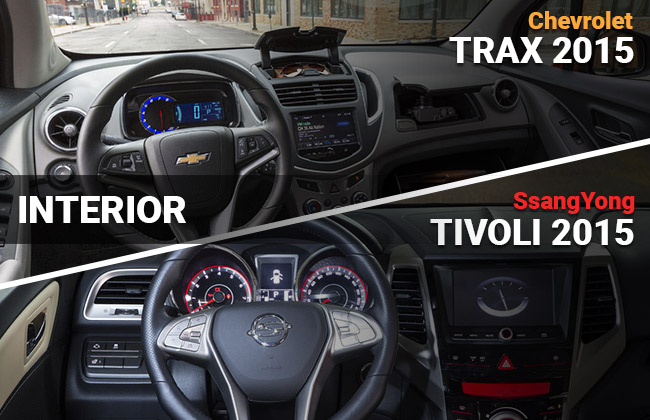 Tivoli vs Trax Interior
