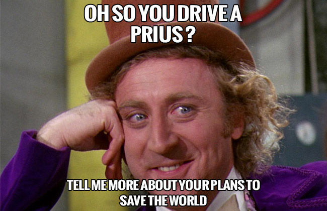 Willy Wonka Prius
