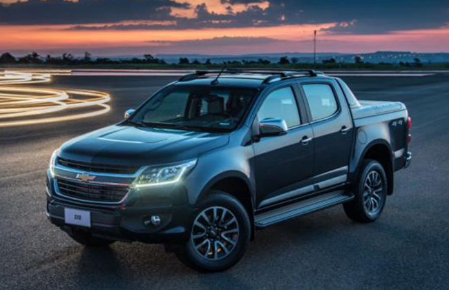 chevrolet colorado 2017 shows its new face new features added. Cars Review. Best American Auto & Cars Review