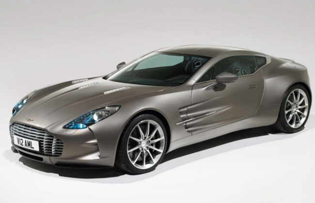 aston martin limited edition car