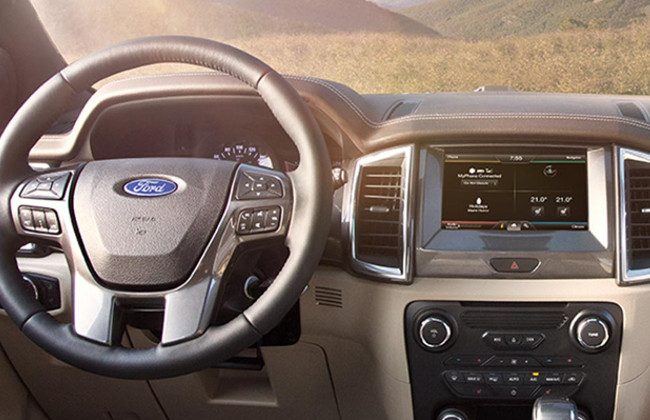 Ford everest dashboard