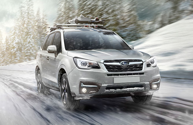Forester off-roading capabilities
