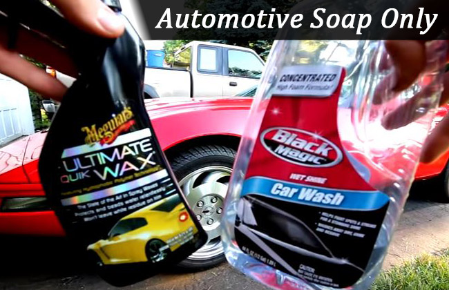 Car washing soap