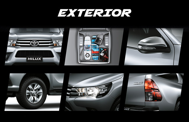 exterior all new hilux