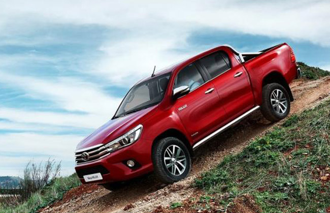 Hilux Off-Roading