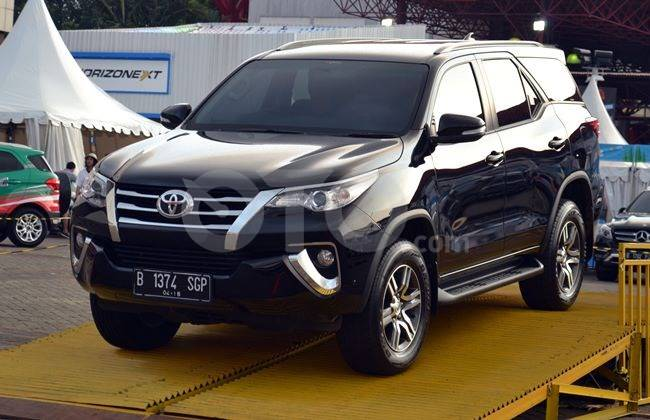 Fortuner laris