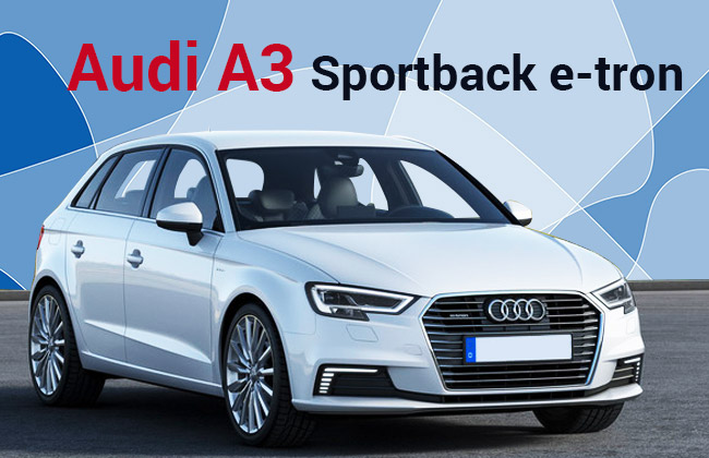 2017 audi a3 sportback e tron revealed carbay. Black Bedroom Furniture Sets. Home Design Ideas