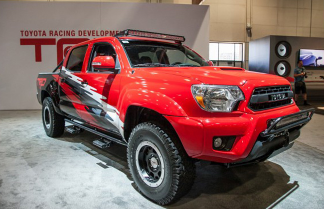Toyota Tacoma TRD Pro Chase Truck