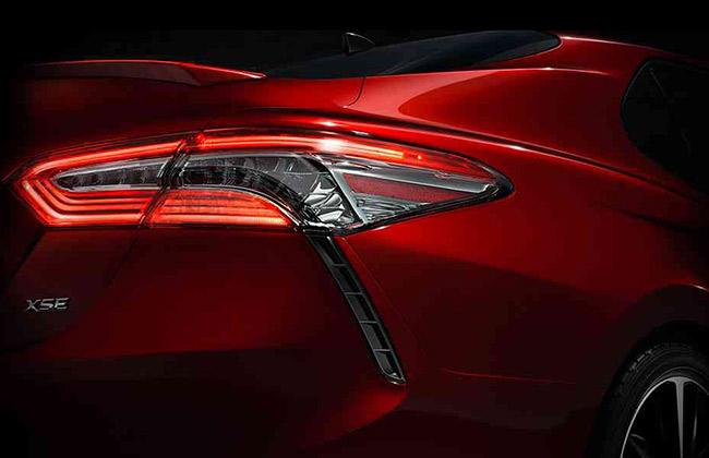 Toyota Camry Teaser