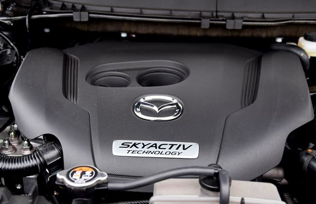 mesin skyactiv turbo