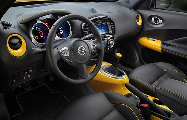 Juke N-Style Special Edition Interior