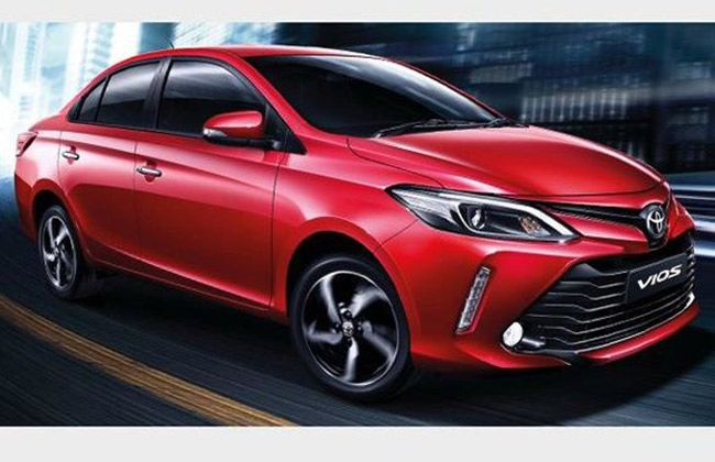 2017 toyota vios facelift revealed in thailand carbay. Black Bedroom Furniture Sets. Home Design Ideas