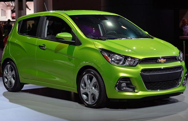 2017 chevrolet spark making its way to the philippines. Cars Review. Best American Auto & Cars Review