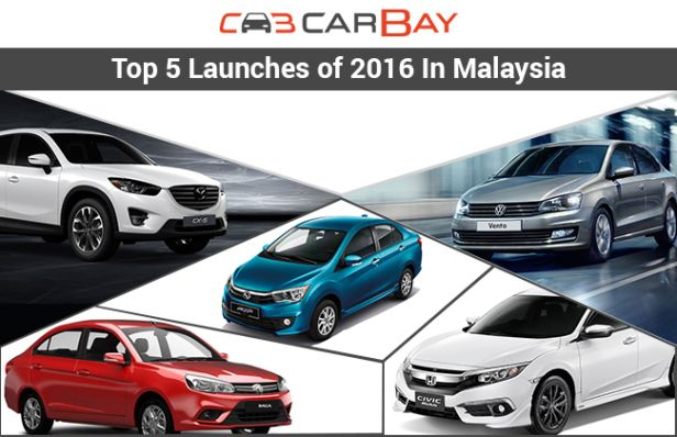 Top 5 launches of 2016 in Malaysia