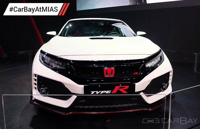 mias 2017 honda civic type r launched carbay. Black Bedroom Furniture Sets. Home Design Ideas
