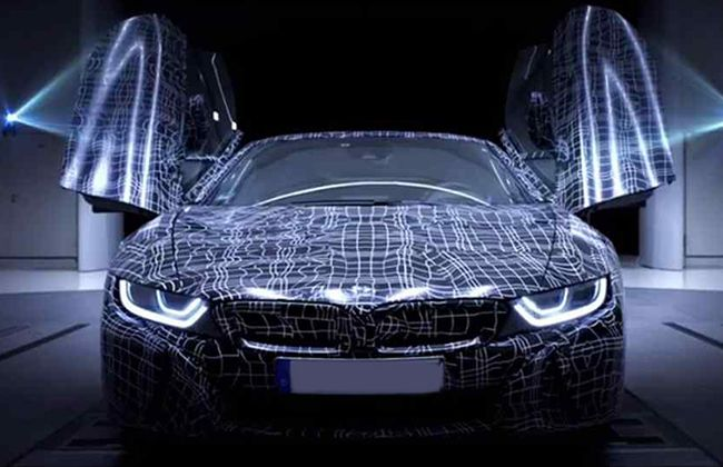Watch the New BMW i8 Roadster Teaser