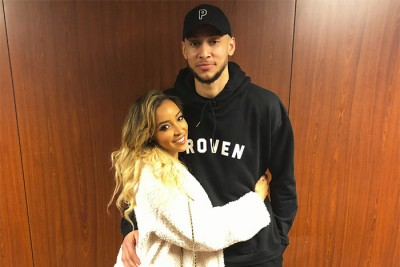 Tinashe and Ben Simmons c...
