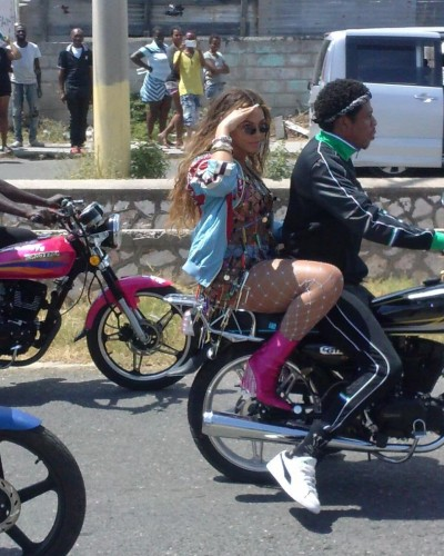 Beyonce and Jay Z shoot m...