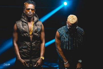 Willy Paul and Harmonize...