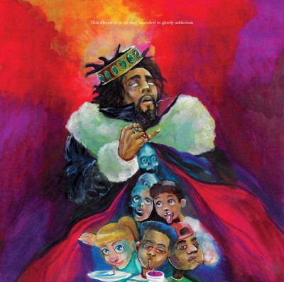 J. Cole reveals KOD cover