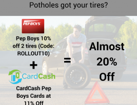 Potholes Got You Down? Save 20% On Tires With These Simple Tips