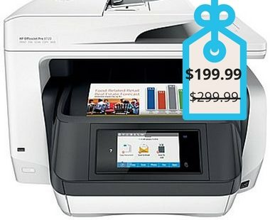 Manage your budget with professional-quality color at up to 50% less cost per page than lasers with the HP OfficeJet Pro 8720 All-in-One Printer.
