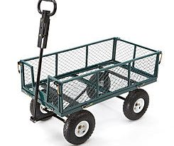 DEAL ALERT! Make moving your yard tools simple with Sears 2-in-1 Utility Cart