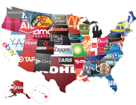 United States of Retailers: Where Are You Most Likely to Shop?