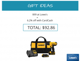 Deal Alert! Deal on a Drill
