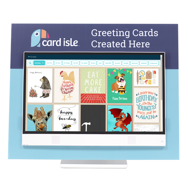 Card Isle Design Station Front