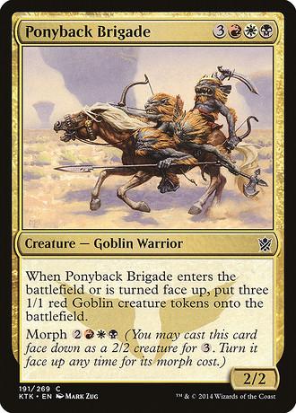 Ponyback-Brigade
