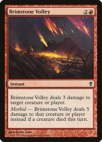 Brimstone-Volley