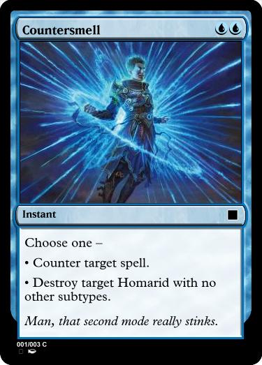 Counterspell, but with that Homarid mode