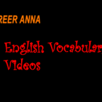 english vocabulary videos